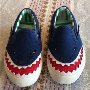 NWOT! Mini Boden Shark Sneaker